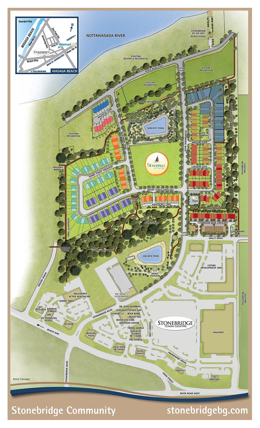 Stonebridge Site Plan