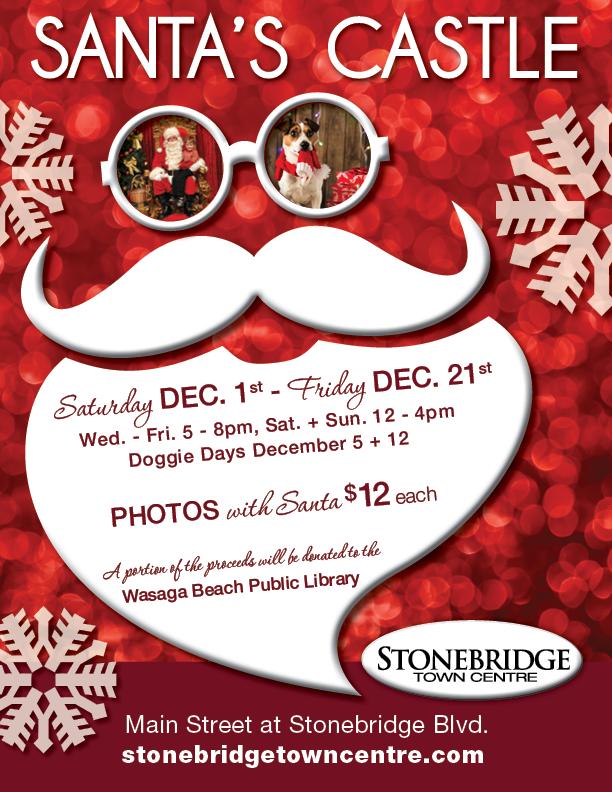 Santa's Castle - Stonebridge Town Centre - 2018