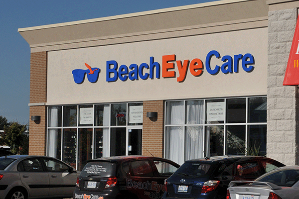 Beach Eye Care - Stonebridge Town Centre