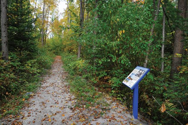 Stonebridge Trail with Sign