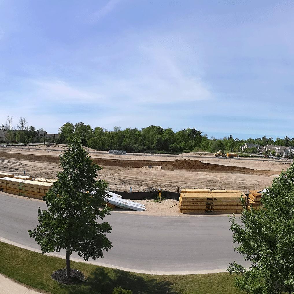 Beachway Crossing Construction